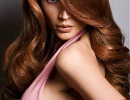 Női hosszú frizura