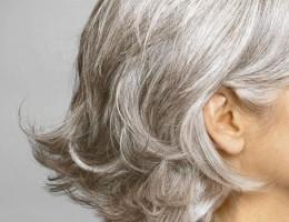 Ősz haj ápolása