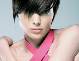 Rövid női frizura